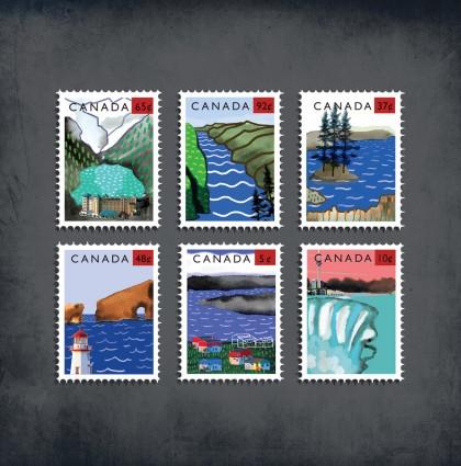 Timbres Canada