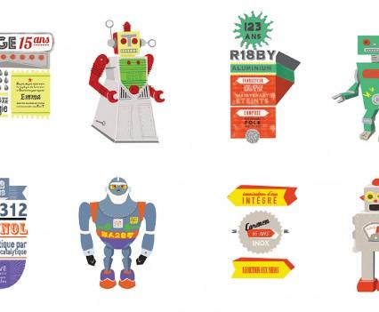 Collection de robots